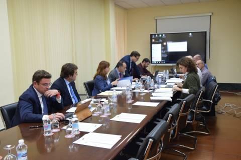 Imagen de archivo de una reunión del Consejo Social