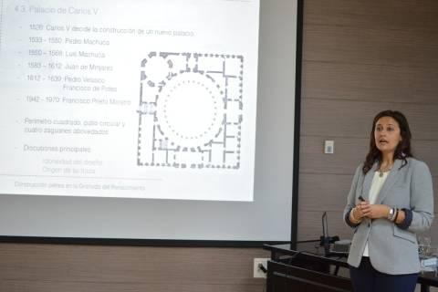 Imagen de archivo de la defensa de una tesis en la UPCT.