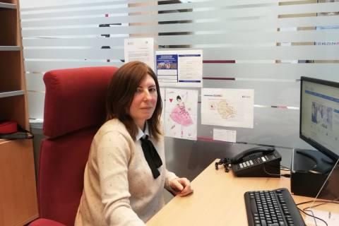 La nueva doctora por la UPCT Noelia González.