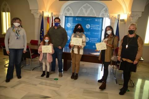 Imagen de los premiados en el último concurso fotográfico organizado por la Unidad de Igualdad.