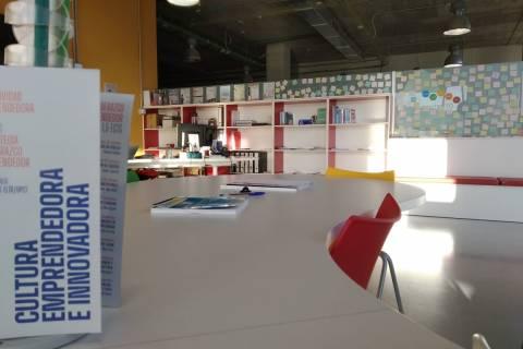Oficina de emprendedores de la UPCT.
