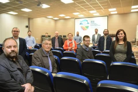 Montaje fotográfico con los miembros del Comité Organizador Local del Congreso.