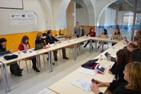 Imagen de archivo de un taller de formación de un proyecto Erasmus realizado en la UPCT.