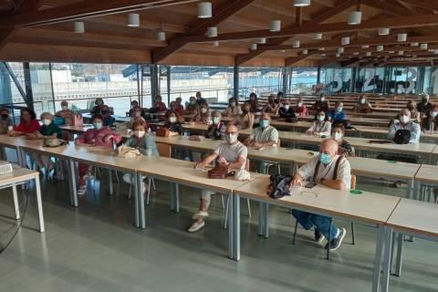 Alumnos del segundo curso senior.