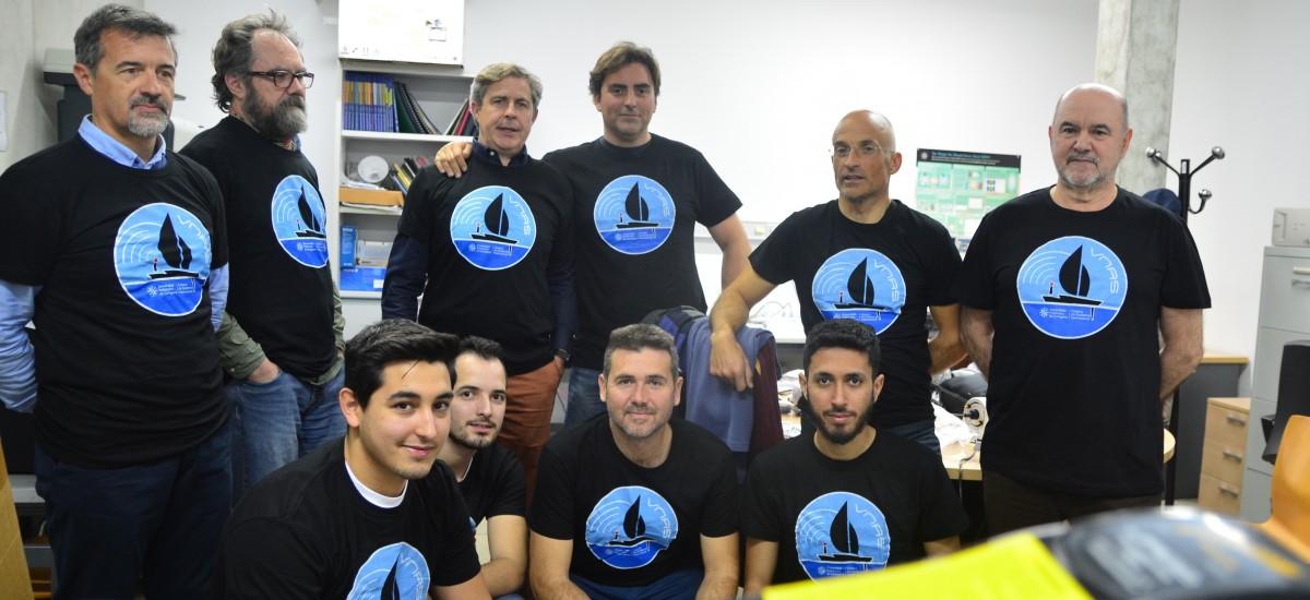 Estudiantes de la UPCT desarrollan un barco eléctrico no tripulado y de bajo coste