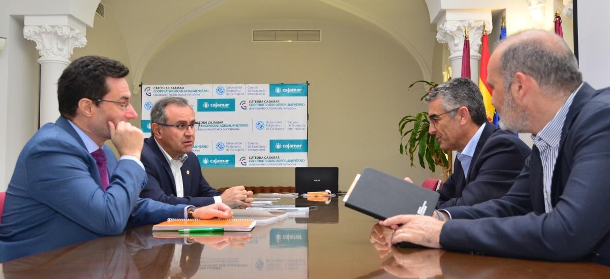 La Cátedra Cajamar-UPCT actualizará el estudio sobre el análisis económico y financiero de las Cooperativas Agroalimentarias