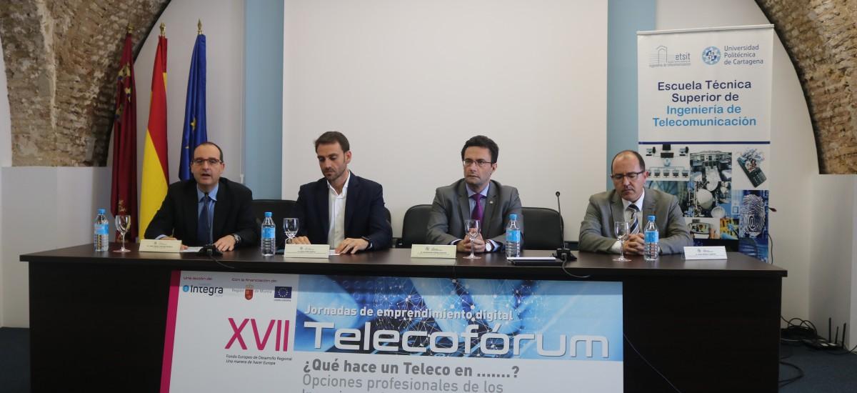 El director de la ETSIT asegura en el Telecofórum que uno de los frenos de la revolución tecnológica es la falta de profesionales