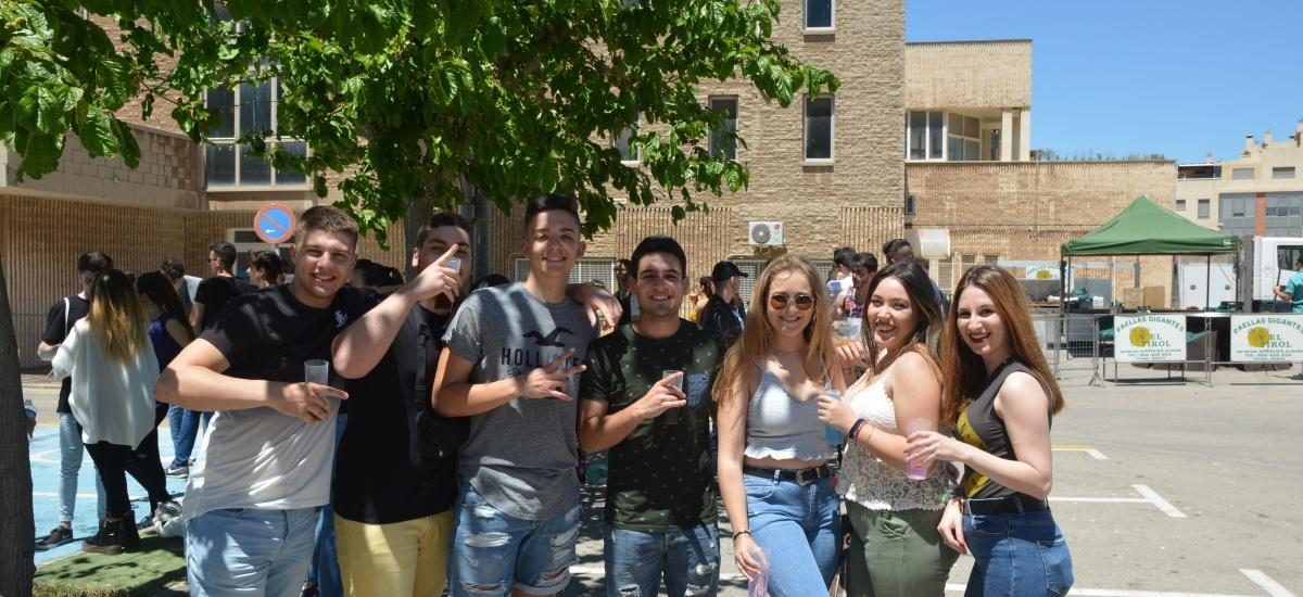 Música, paella y ambiente festivo en las fiestas del Campus de Alfonso XIII y la Facultad