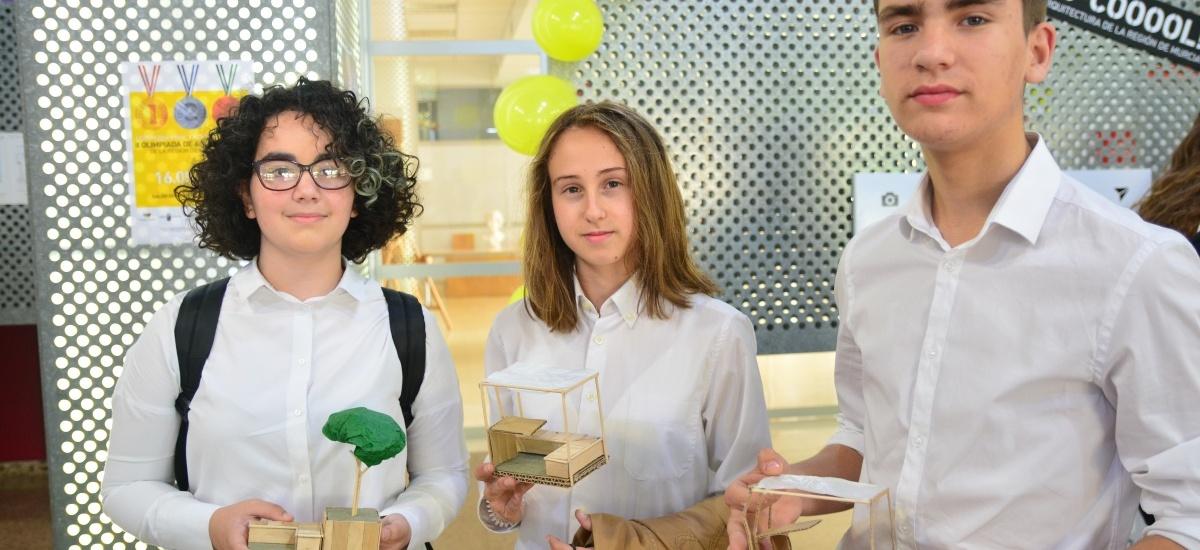 Alumnos de Murcia ganan la Olimpiada de Arquitectura con un proyecto de módulos para trabajar en equipo (fotos de todos los equipos)