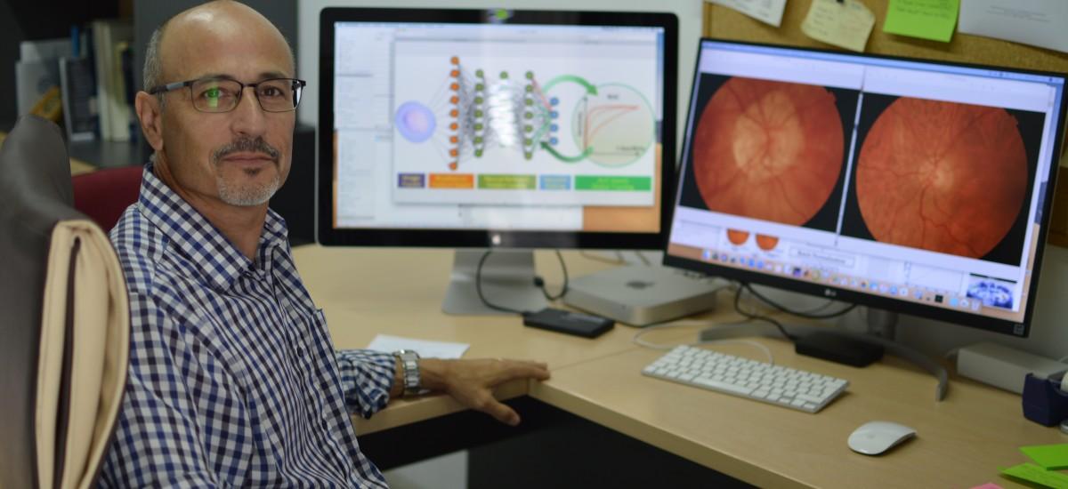 """""""Telecos"""" de la UPCT crean una herramienta de diagnóstico precoz del glaucoma para el SMS"""