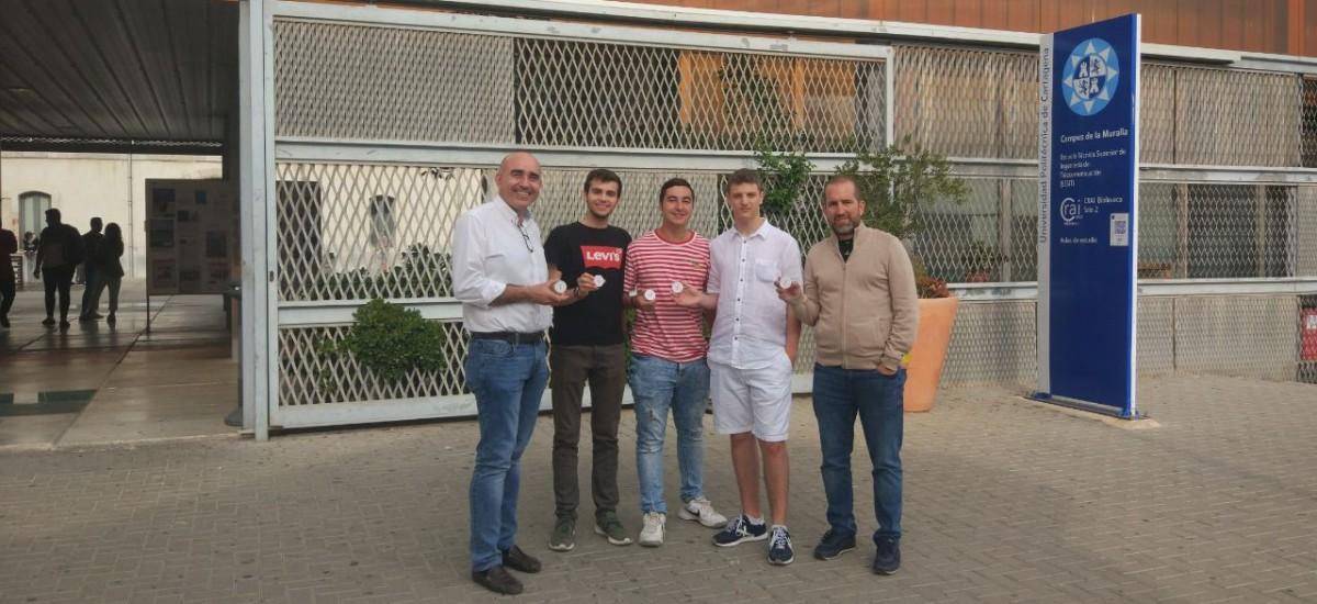 Estudiantes de IES San Isidoro tutorizados por la UPCT ganan un accésit en un encuentro de Alumnado Investigador en Cádiz