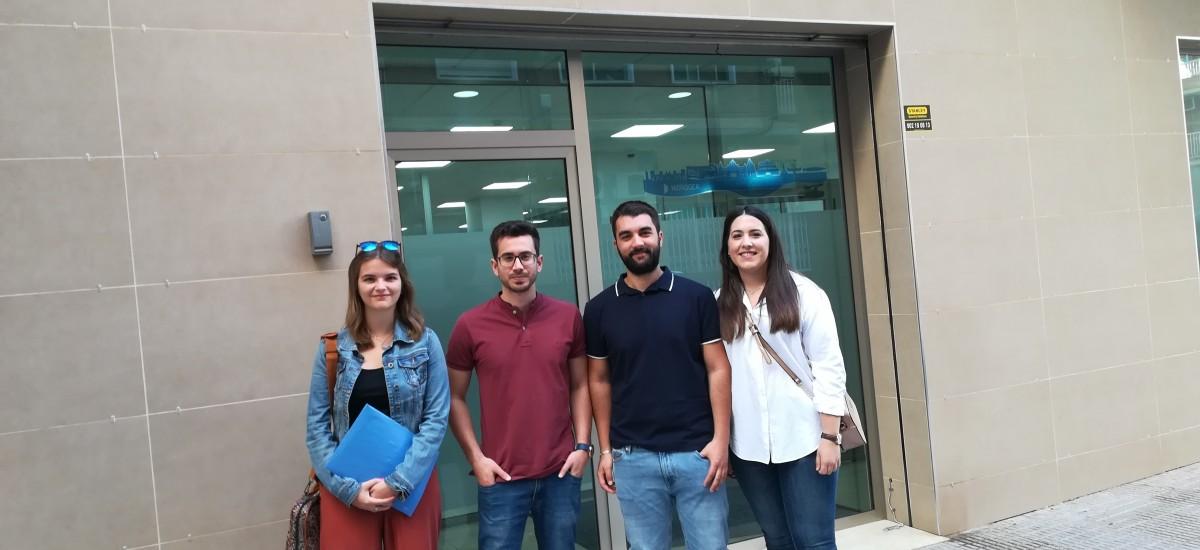 Hidrogea formará en los próximos meses a 4 alumnos de la UPCT para desarrollar planes directores de redes de abastecimiento