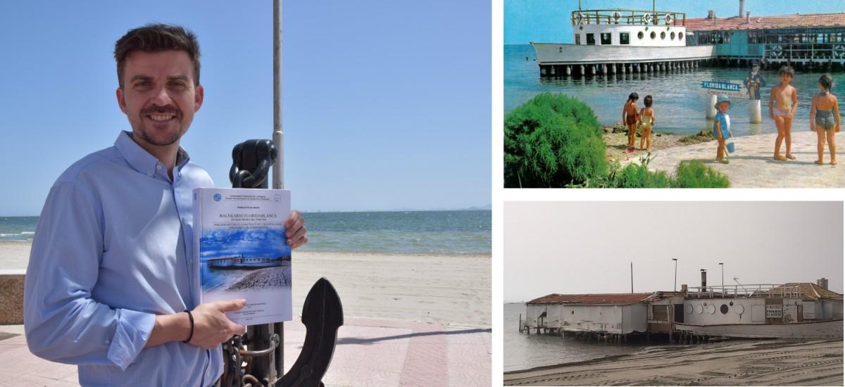 Premio nacional para un arquitecto técnico de la UPCT por su proyecto para rehabilitar el Balneario Floridablanca