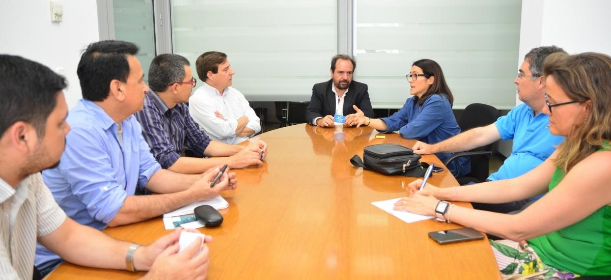 La Universidad Nacional de Paraguay se interesa en colaborar con el Observatorio de la Pyme y la UPCT