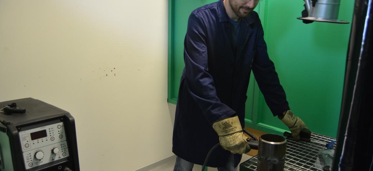 Máster de la UPCT para conseguir el diploma de International Welding Engineer