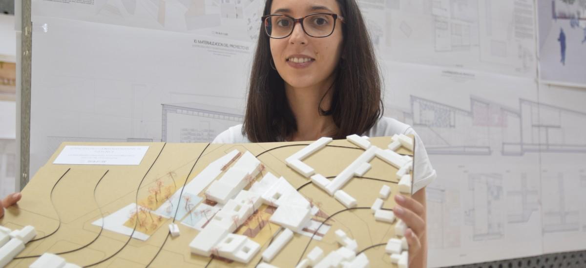 Una arquitecta por la UPCT, finalista en la Bienal Iberoamericana de Arquitectura