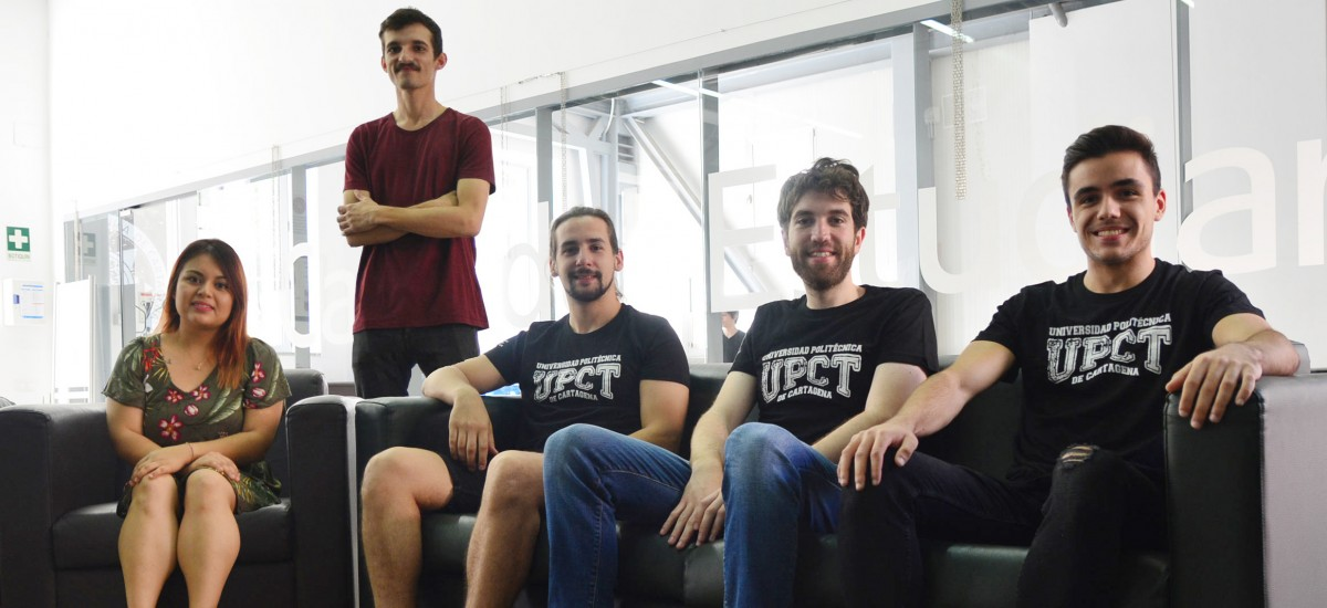 Cinco alumnos de la UPCT, becados por el Santander para estudiar e investigar en Chile, Brasil y Argentina