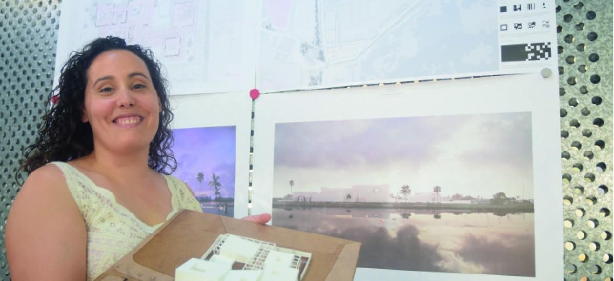 Una arquitecta por la UPCT diseña un centro de investigación de la posidonia en San Pedro del Pinatar