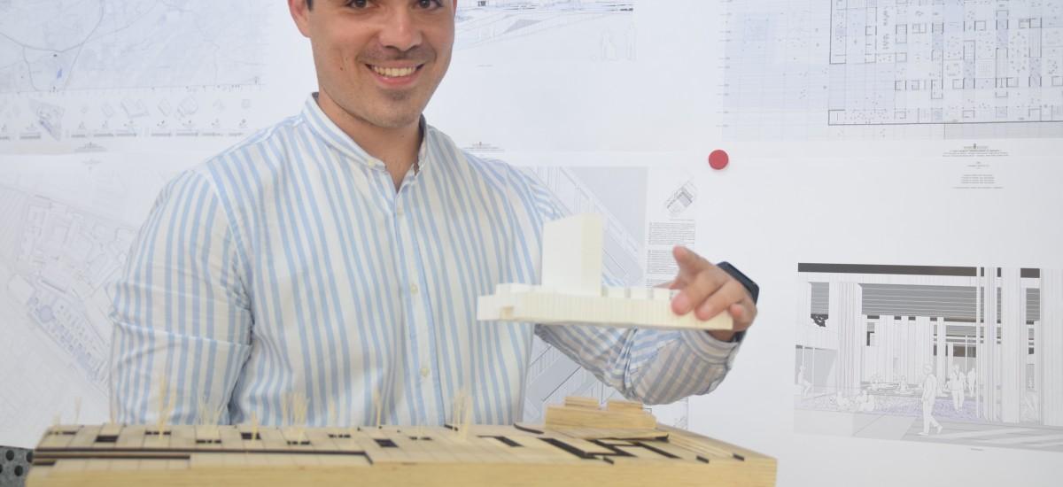 Un alumno de Arquitectura diseña para la Arrixaca el primer centro de epilepsia de España