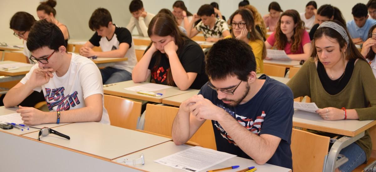 Los exámenes aplazados por la DANA se recuperan entre hoy y el sábado