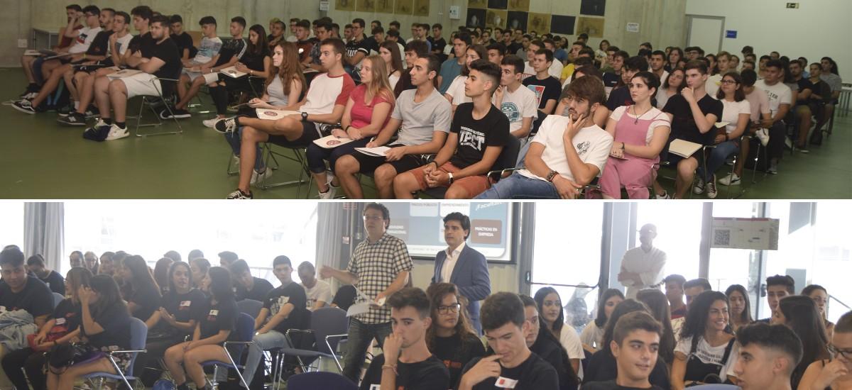 Comienza el curso con jornadas de acogida en Teleco y la Facultad