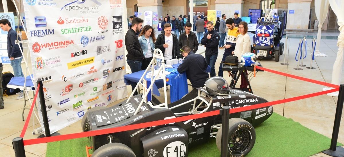UPCT Racing Team busca estudiantes de Ingeniería y Empresa para competir esta temporada