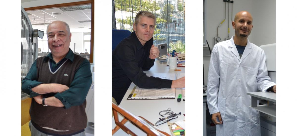 Tres profesores de la UPCT, incluidos  en el ranking del CSIC entre los 5.000 mejores investigadores de España