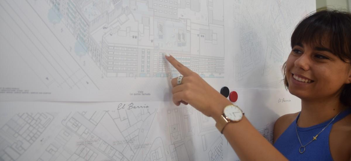 Proponen crear espacios públicos en las cubiertas de los edificios de El Carmen para aumentar la interacción social