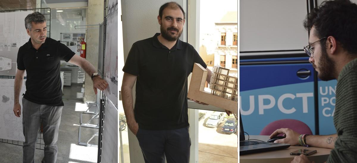 Cuatro proyectos de profesores y estudiantes de la UPCT, galardonados con el Premio Regional de Arquitectura