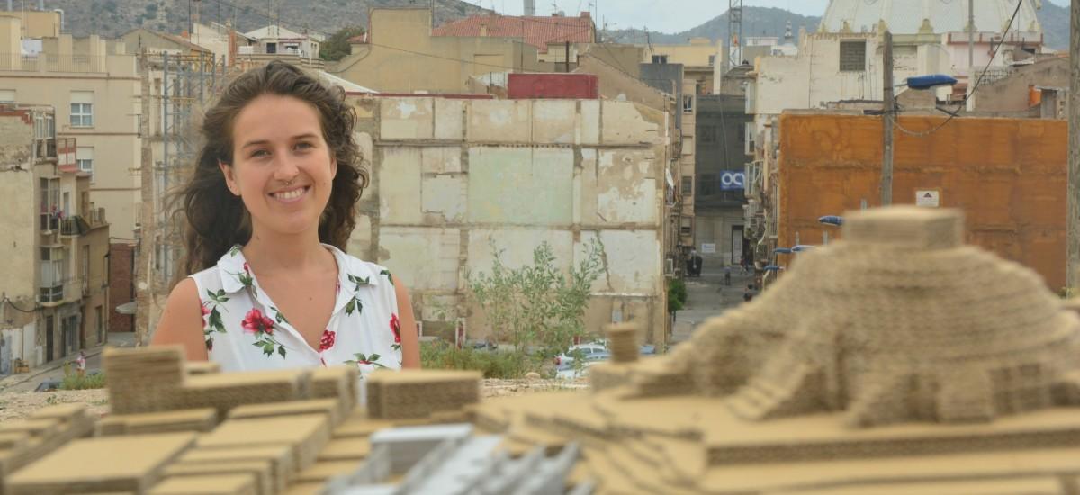 Una alumna de la UPCT propone una escuela intergeneracional para revitalizar Monte Sacro