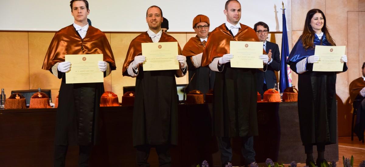 Los Premios Extraordinarios de Doctorado UPCT se pueden solicitar hasta este miércoles