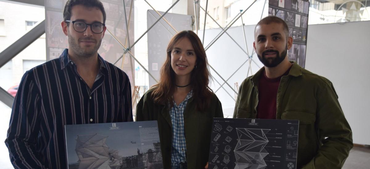 Premiados internacionalmente tres arquitectos UPCT por su aseo desplegable para emergencias humanitarias