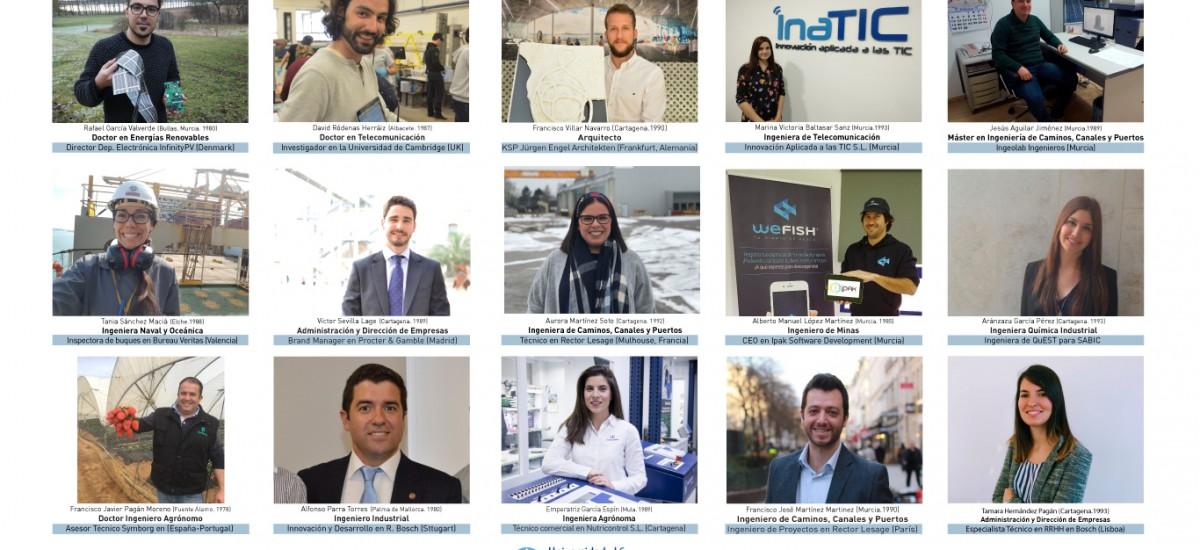 Seis ingenierías impartidas en la UPCT se encuentran entre las 19 carreras con mayor inserción laboral