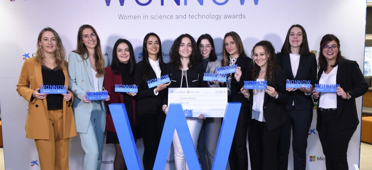 Dos estudiantes de la UPCT, entre las mejores alumnas españolas de las carreras técnicas