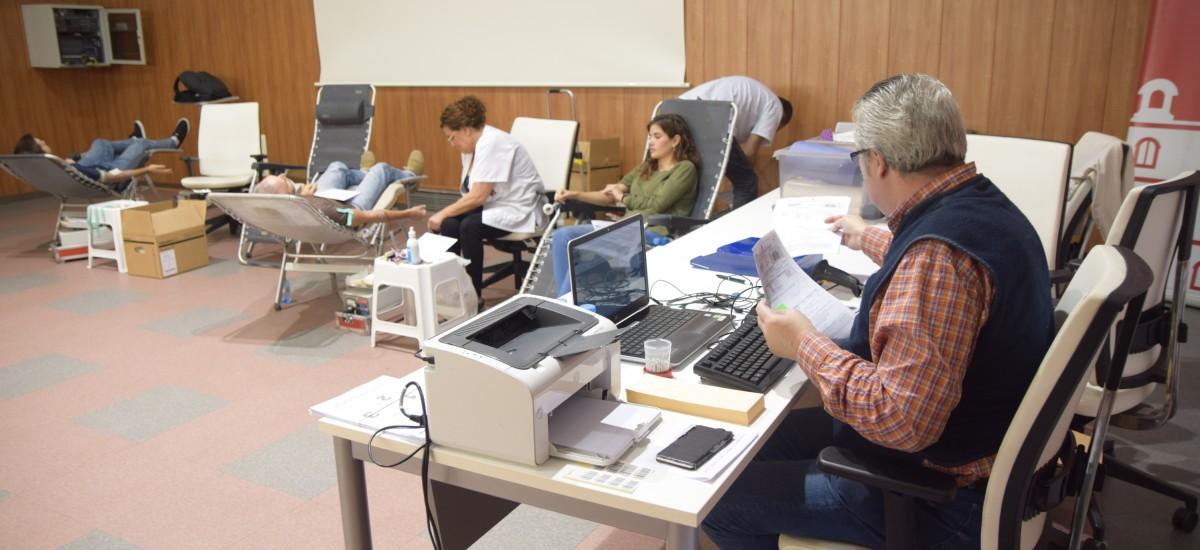Campaña de donación de sangre, hoy en Industriales y mañana en Navales