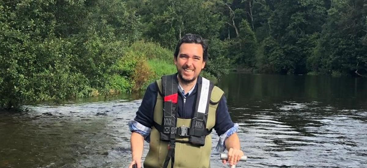 Un profesor de Hidráulica expone en la Cumbre del Clima medidas sostenibles para compensar el cambio climático