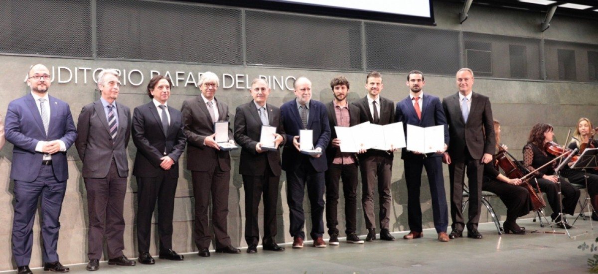 Recogen sus premios los últimos galardonados de la UPCT por el Consejo General de la Arquitectura Técnica