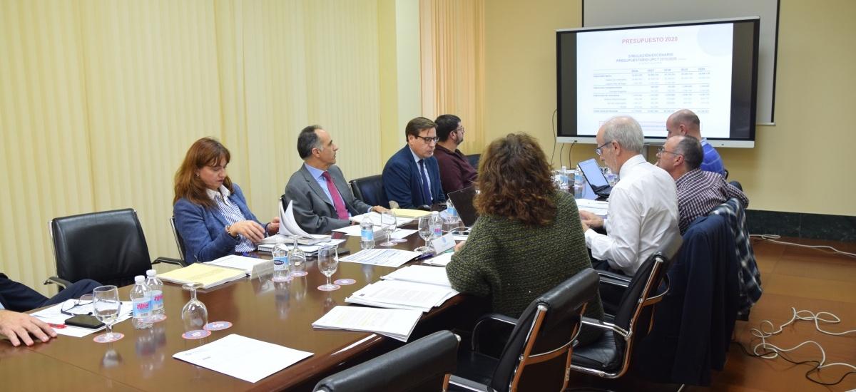 El Consejo Social aprueba los presupuestos de la UPCT para 2020 que rondan los 64 millones de euros