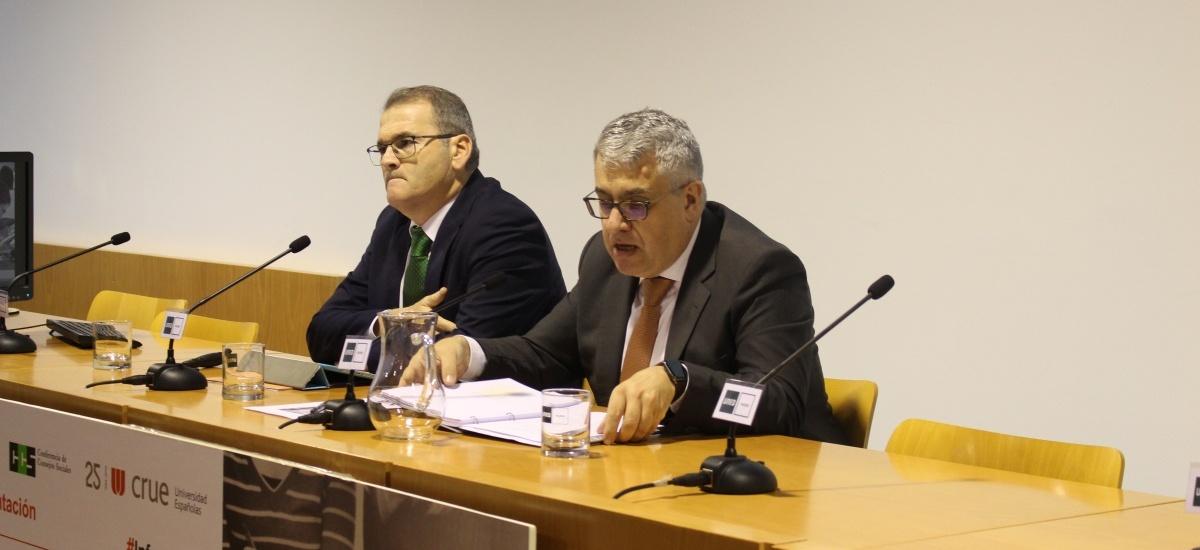 La Universidad devuelve a la sociedad 4,3 euros por cada uno que la administración pública invierte en su financiación