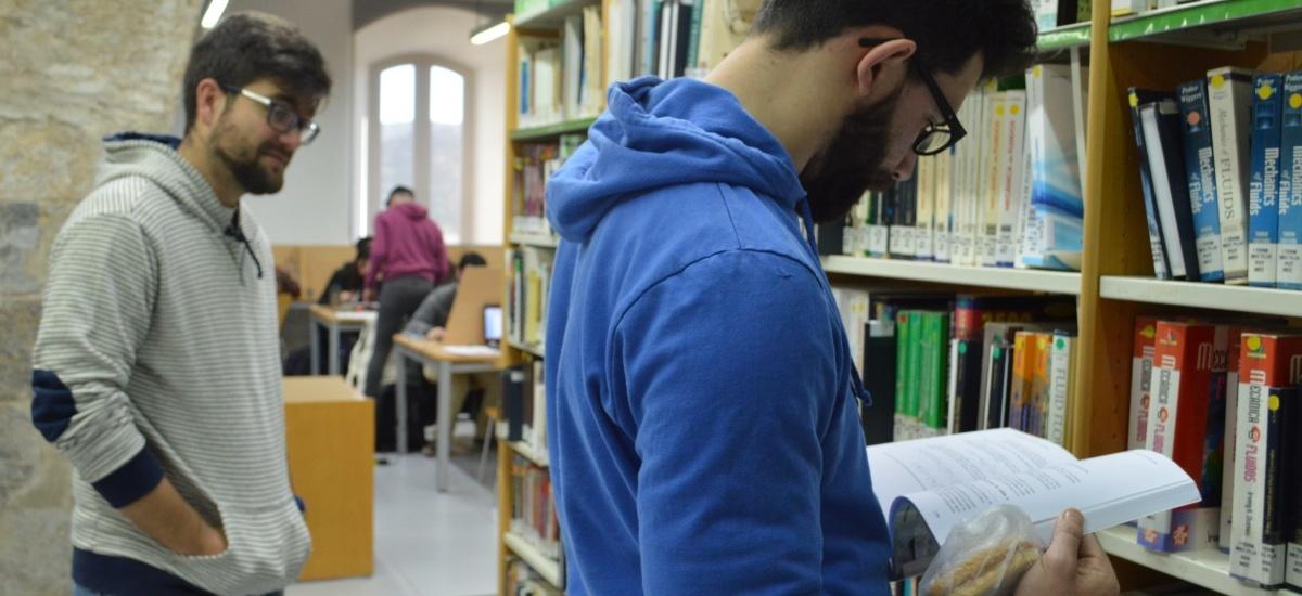 El CRAI biblioteca del Campus de la Muralla abre los días 23, 26, 27 y 30 de diciembre y el 2, 3 y 4 de enero