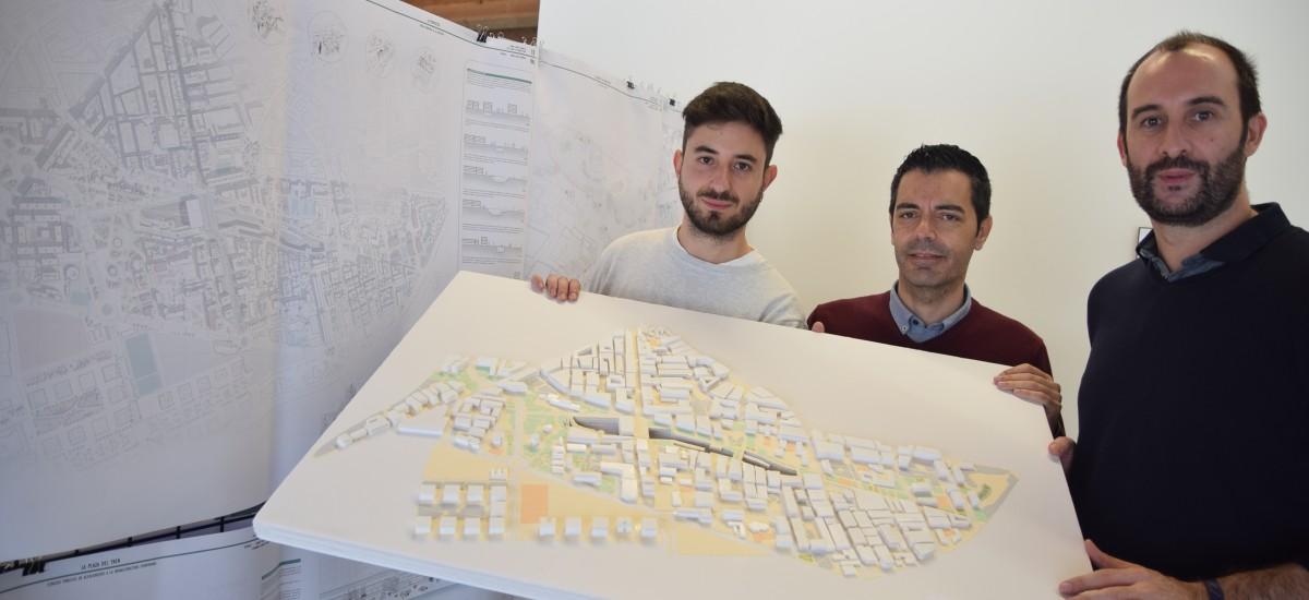 Un arquitecto por la UPCT diseña la integración urbana de Murcia tras el soterramiento de las vías