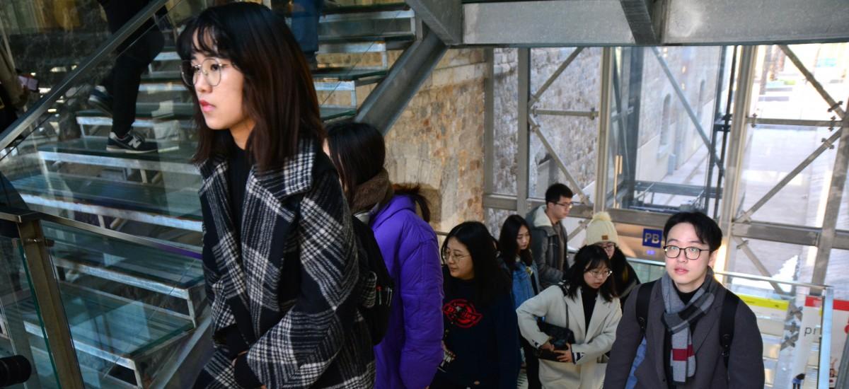 De China a la UPCT para recibir masterclass en Arquitectura y Caminos