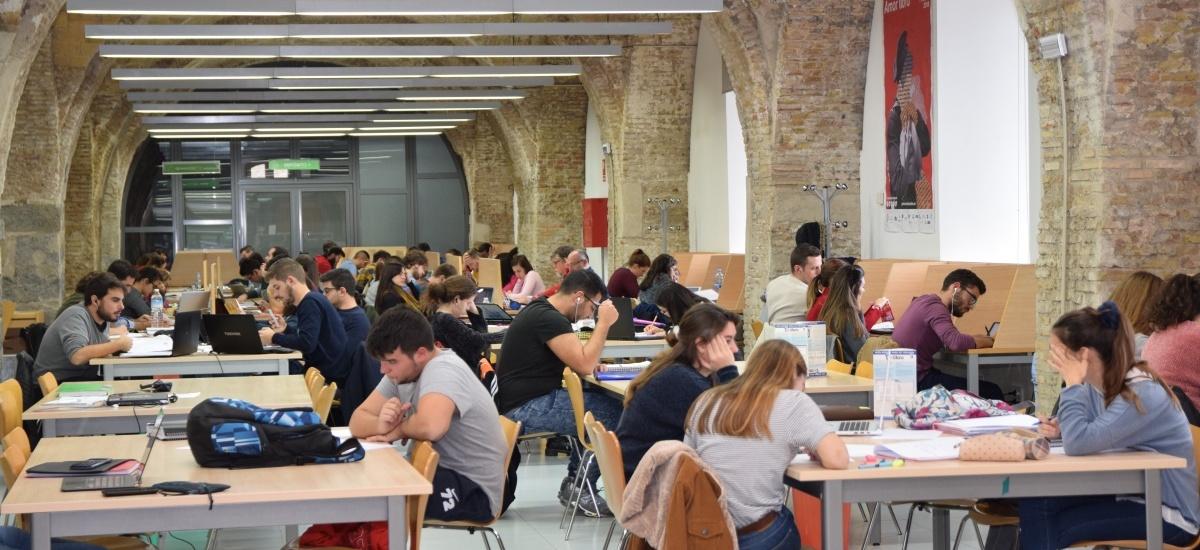 El CRAI Biblioteca amplía su horario hasta el 11 de febrero para facilitar el estudio de cara a los exámenes