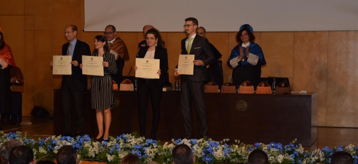 La UPCT entrega treinta premios Fin de Grado, Máster y Doctorado