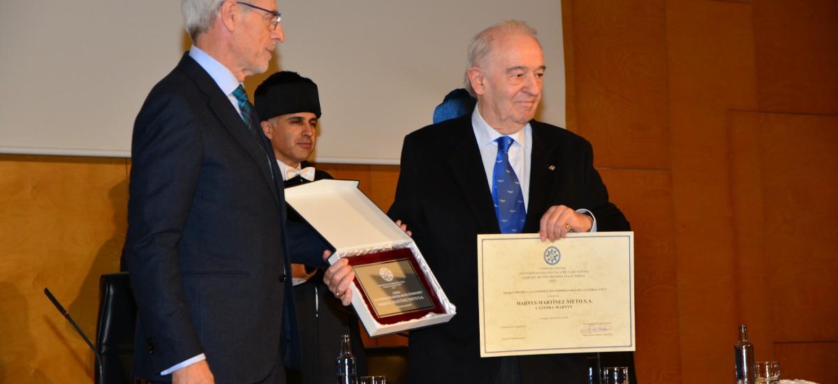 El Consejo Social premia al investigador Raúl Zornoza, al colectivo La Huertecica y a las empresas Marnys y Navantia