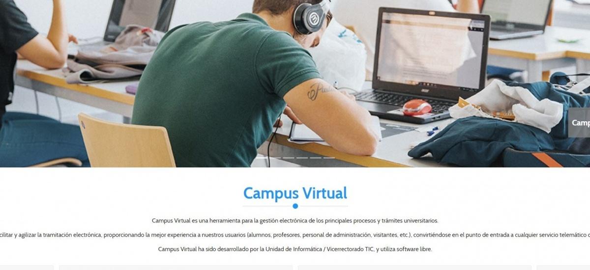 El nuevo Campus Virtual actualiza y mejora la usabilidad del antiguo Portal de Servicios