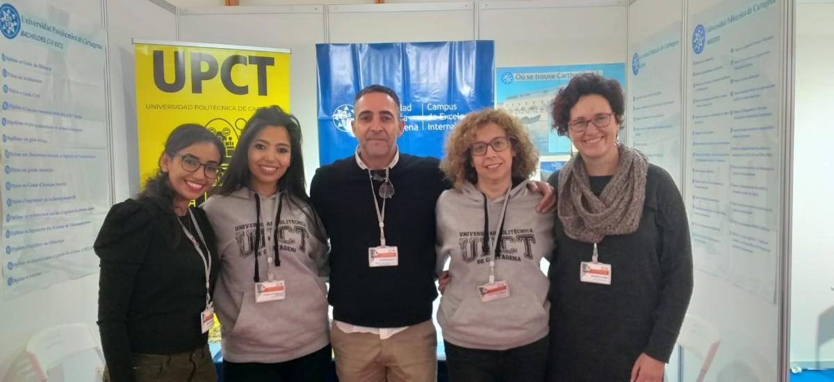 Campus Mare Nostrum da a conocer sus estudios en Casablanca