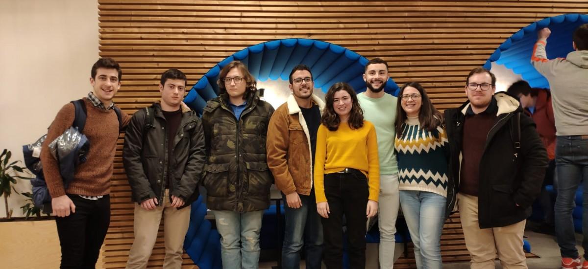 Ocho estudiantes de Teleco se forman en un curso intensivo de smart cities en Bélgica