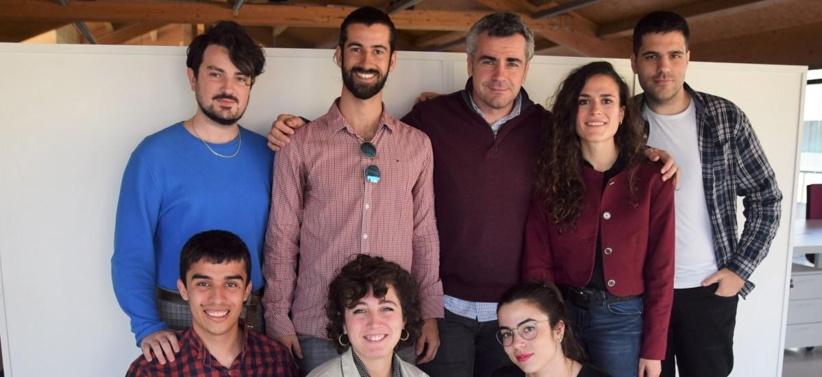 Alumnos de Arquitectura participan en un intercambio con estudiantes alemanes para fabricar estructuras para el rescate de personas en alta mar