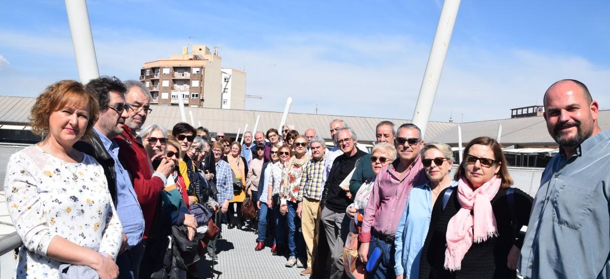 La Universidad de Mayores José Saramago de Cuenca visita la UPCT